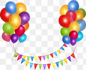 Balloons - Party Download Clip Art PNG