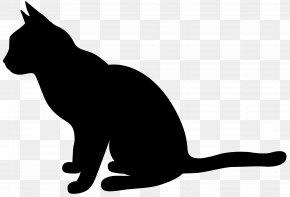 Cat Silhouette Clip Art Image - Cat Silhouette Clip Art PNG