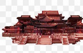 House Building Games - Old Summer Palace Epang Palace PNG