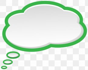 Bubble Speech Green White Clip Art Image - Speech Balloon Clip Art PNG