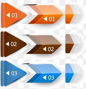 Vector Digital Arrow Label - Banner Creativity PNG