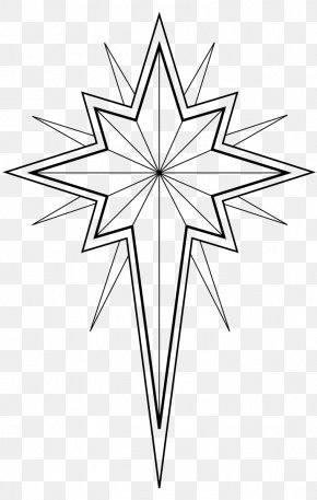 Christmas Tree - Colouring Pages Coloring Book Star Of Bethlehem Christmas Day Christmas Tree PNG