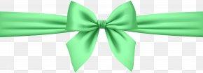 Green Bow Transparent Clip Art - Pink Clip Art PNG