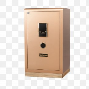 Gold High-end Safe - Safe Deposit Box Password Safe Google Images PNG