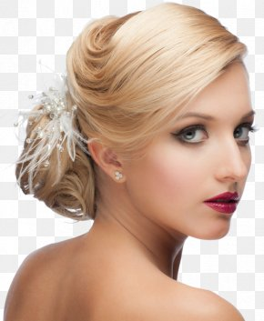 Hair Style - Bride Hairdresser Wedding Beauty Parlour Hairstyle PNG