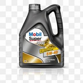 Car Motor Oil - Car Motor Oil Mobil Synthetic Oil Engine PNG