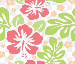 Flowers Shading - Hawaii Aloha Wallpaper PNG
