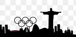 Vector Silhouette Olympics - Christ The Redeemer 2016 Summer Olympics 2014 Winter Olympics Opening Ceremony Team Of Refugee Olympic Athletes Paralympic Games PNG