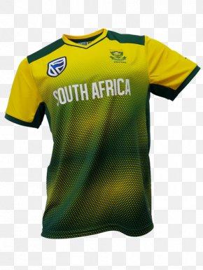 Cricket Jersey - T-shirt South Africa National Cricket Team Jersey Cricket Team India National Cricket Team ICC World Twenty20 PNG