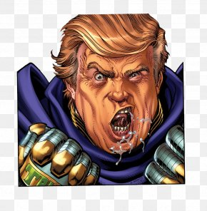 Trump Cartoon Characters Free To Pull The Material - Donald Trump United States Doctor Doom Supervillain PNG