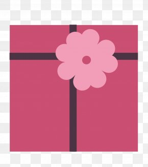 Red Gift Box - Gift Box Icon PNG