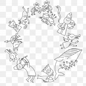 Night In The Woods Art - /m/02csf Line Art Drawing Illustration Cartoon PNG