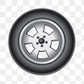 Car Tire - Car Tire Alloy Wheel Rim PNG