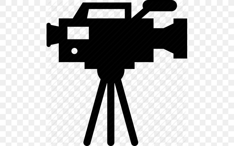 Video Camera Film Icon, PNG, 493x512px, Camera, Black, Black And White, Brand, Camcorder Download Free
