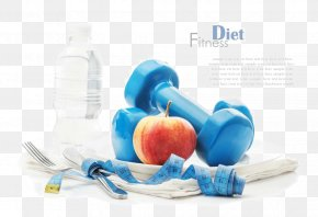 Dumbbell Fitness Weight Loss - Dumbbell Weight Loss Physical Fitness Weight Training Physical Exercise PNG
