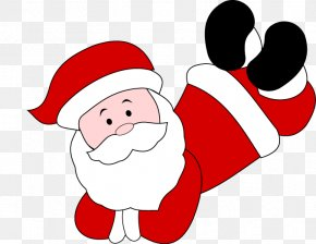 Hand-painted Santa Claus Cartoon Pattern - Santa Claus Drawing Cartoon PNG