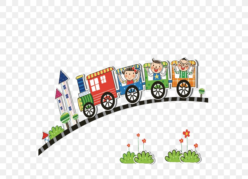 Train Child Illustration, PNG, 655x592px, Train, Area, Computer Graphics, Illustration, Material Download Free