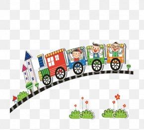 Train - Train Child Illustration PNG