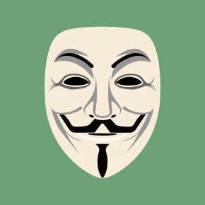 Anonymous Mask - Phone Hacker Simulator Wifi Hacker Prank Security Hacker Mask Anonymous PNG