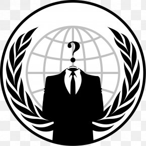 Anonymous Mask - Anonymous Logo Hacktivism PNG