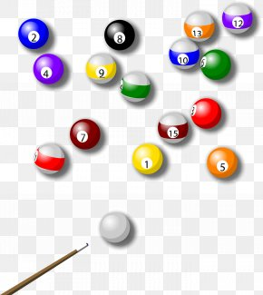 Billiard Table Snooker Vector Material - Billiards Billiard Ball Snooker Cue Stick PNG