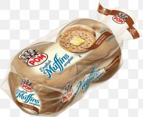 Pom Pom - Bread English Muffin Breakfast Bakery PNG