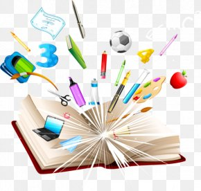 School Supplies - School Supplies Clip Art PNG