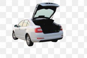 White Car Trunk Physical Map - Car U0160koda Auto Trunk U0160koda Octavia Vehicle PNG