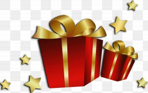 Transparent Christmas Red Gift Boxes - Christmas Card Happiness Birthday Child PNG