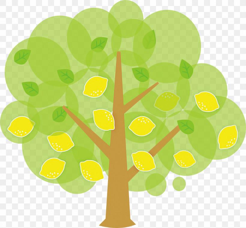 Green Yellow Leaf Tree Plant, PNG, 1979x1840px, Green, Leaf, Plant, Symbol, Tree Download Free