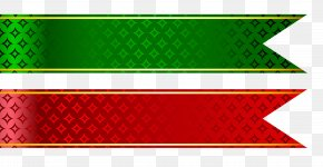 RED LINES - Ribbon Web Banner Clip Art PNG