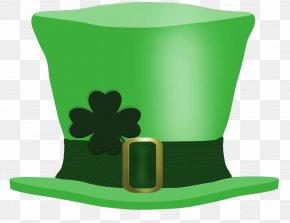 Saint Patrick's Day - Saint Patrick's Day Hat Leprechaun Shamrock Clip Art PNG