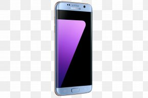 Samsung - Samsung Telephone Smartphone Android Blue Coral PNG