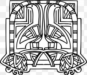 Vector Decorative Waterfowl Egypt - Visual Arts Ornament Clip Art PNG