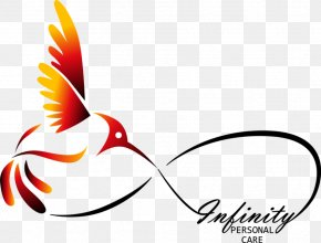 Personal Care Cliparts - Hummingbird Tattoo Infinity Symbol PNG