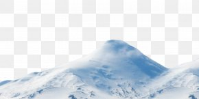 Snow-covered Mountain Peak - Mountain Snow Computer File PNG
