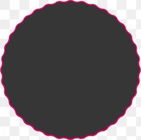 Christmas - Pink M Christmas CIRCLE Computer Font PNG