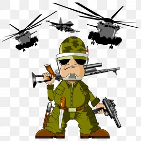 Vector Warrior - Soldier Cartoon Royalty-free Clip Art PNG
