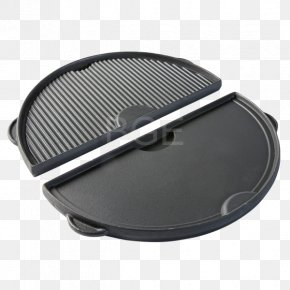 Both Side Design - Barbecue Big Green Egg Griddle Cast Iron Sheet Pan PNG