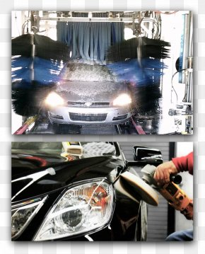 Car - Car Wash Headlamp Auto Detailing Windshield PNG