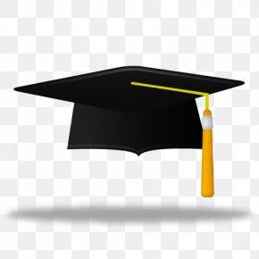 Cap - Square Academic Cap Hat Graduation Ceremony PNG