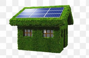 Green House - Solar Panel Solar Energy Solar Power Photovoltaic System Photovoltaics PNG