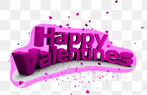 Happy Valentine's Day - Valentines Day Public Holiday Clip Art PNG