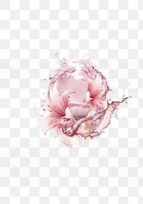 Pink Petal Pattern Decorative Background Condensation Water Samples - Pink Petal Download PNG
