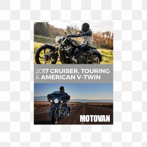 Motorcycle - Touring Motorcycle Motor Vehicle Cruiser V-twin Engine PNG