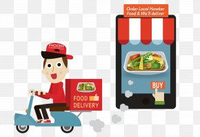 Delivery - Fast Food Take-out Online Food Ordering Delivery Restaurant PNG