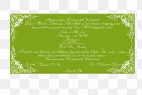Mawaddah - Allah Sunnah Apostle Family Wedding Invitation PNG