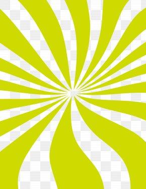 Green Rotating Creative Drawing - Light PNG