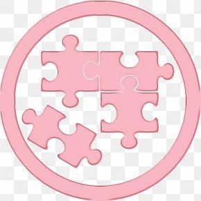 Sticker Pink - Pink Circle PNG