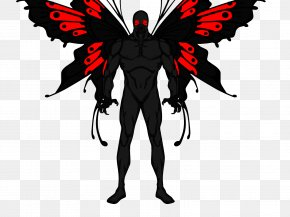 Moth Man Transparent - Point Pleasant Flatwoods Monster Mothman PNG